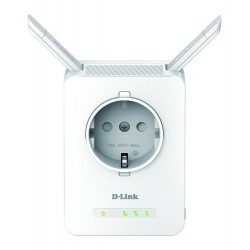 D-Link Wireless Range Extender N300 With 10/100