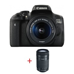 Canon EOS 750D TRAVEL KIT EF-S 18-55 IS STM + EF-S